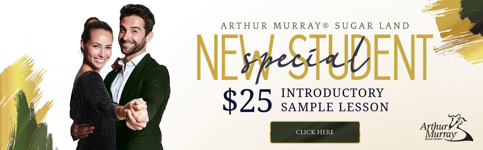 Arthur Murray Sugar Land New Student Offer